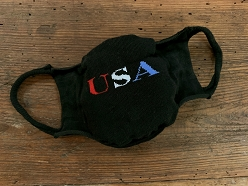 Mask, USA, Blk